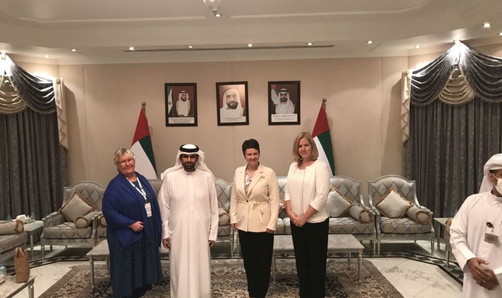 Latvia-Sweden-Estonia in Abu Dhabi emirate