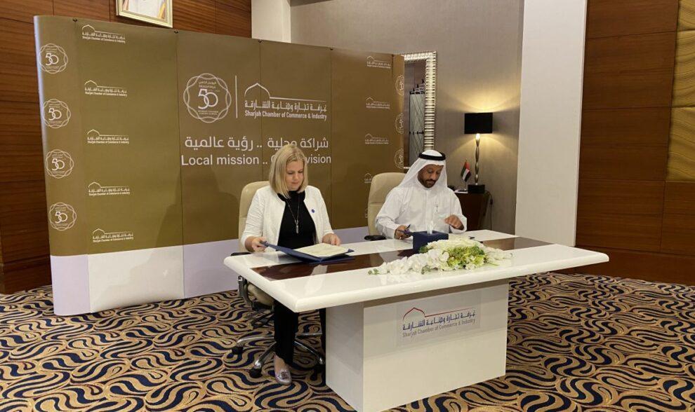 ITL sõlmis koostöömemorandumi Sharjah emiraadi kaubanduskojaga